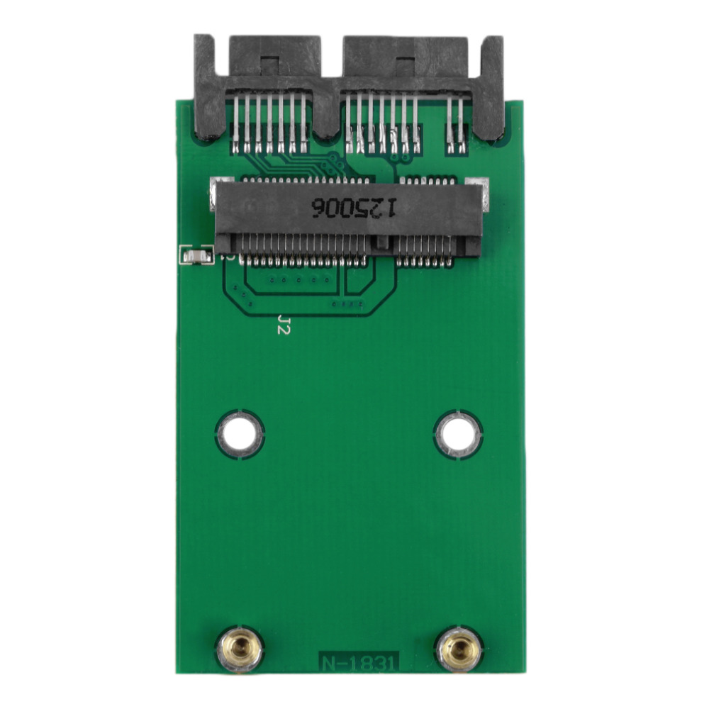 1.8 inch Green High Capacity High Power Serial mSATA to SATA Adapter<br><br>Aliexpress
