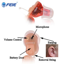 Buy Reasonable Price Digital Ear Sound Amplifier Mini Programmable CIC Hearing Aid deaf earphones S-12A for $285.00 in AliExpress store