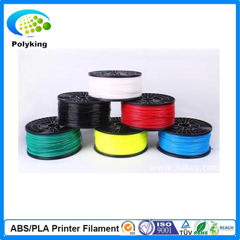 Hot sale china 3d pen 3d printer abs filament 1.75mm black color 3d printer filament abs 1.75mm 1kg/spool for 3d impressoras