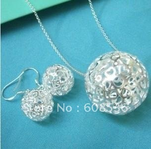 fashion jewelry, Hot 925 sterling silver Jewelry  Necklace & bracelet,  jewelry, SALE S143