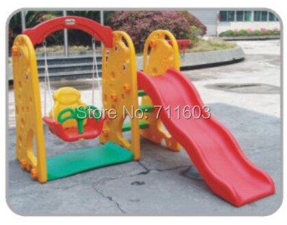 Hot sale kids play slide/backyard play/play house/garden swing/sandbox JM145-1(China (Mainland))