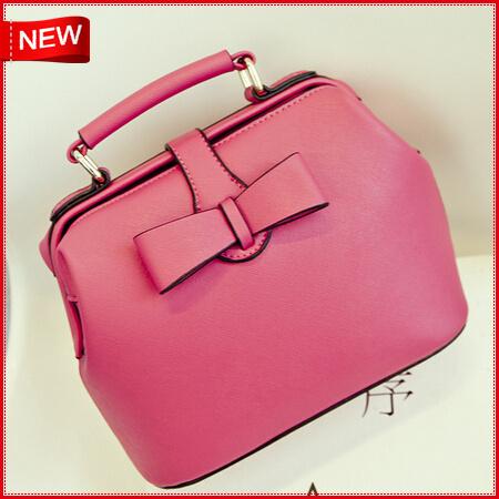 New brand bag Bow Genuine leather 2015 fashion women messenger bags handbag shoulder handbag designer high quality<br><br>Aliexpress
