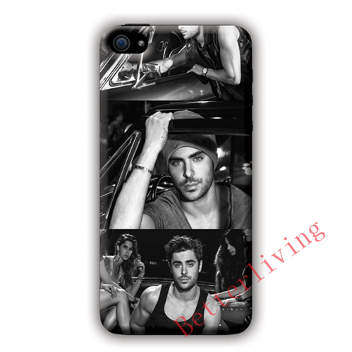 Zac Efron 3 Pics fashion cell phone case cover for samsung galaxy S3 S4 S5 S6 S7 Note 2 Note 3 Note 4 #R777(China (Mainland))