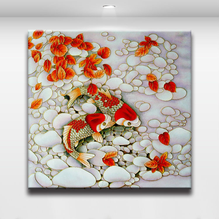 Online buy wholesale koi fish from china koi fish for Koi fish home decor