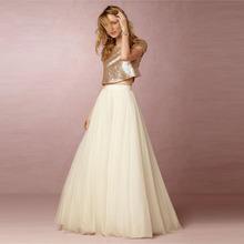 Custom Made Multi Layers Tulle Skirt Zipper Waist A Line Floor Length Long Maxi Skirt High Quality Skirts Womens