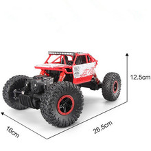 New RC Car 4WD 2.4GHz Rock Crawlers Rally climbing Car 4x4 Double Motors Bigfoot Car Remote Control Model Off-Road Vehicle Toy(China (Mainland))