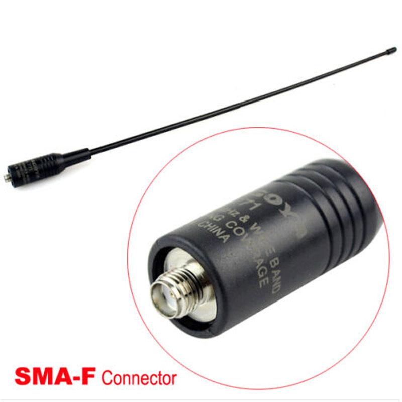 SMA/f na/771 /UHF144/430 oem 10 144 430 na 519 sma walkie talkie baofeng 5r px 888k tg uv2 uvd1p na 519
