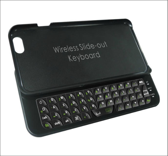 For iphone 5 5s 6 case with Wireless Bluetooth Keyboard Plastic Case Cover For 5 5s 6 + film free Free Drop Shipping(China (Mainland))