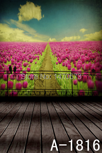 Free digital natural garden scenic background,studio props photography 2m*3m vinyl backdrop photography for kids,wedding A-1814(China (Mainland))