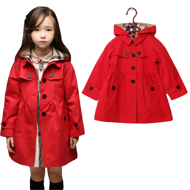 New 2015 Wind Coat Cardigan Jackets For Girls Brand Girls Spring Trend Style Girls Jackets Kids ...