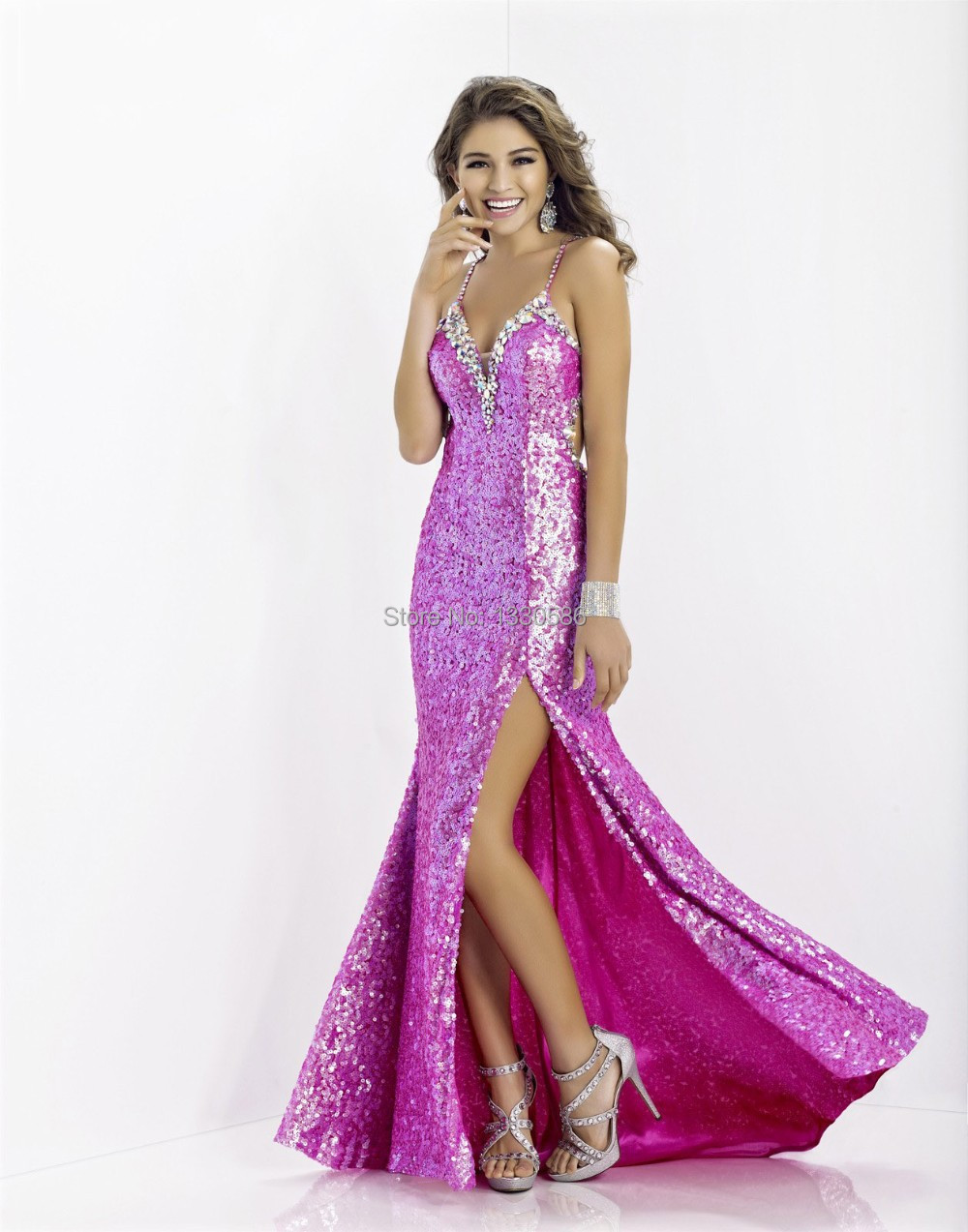Compare Prices on Long Sequin Prom Dresses- Online Shopping/Buy ...