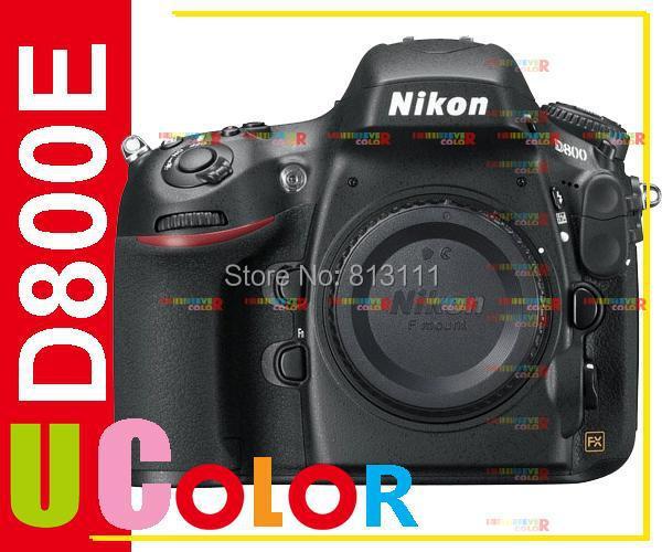Original New Nikon D800E D800 E 36.3 MP FULL FRAME DSLR Camera Body Multi-Language<br><br>Aliexpress