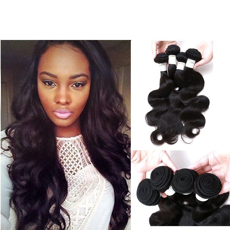 Peruvian Virgin Hair 4 Bundles Body Wave Wavy Peruvian Virgin Hair Body Wave 8A Grade Virgin Unprocessed Human Hair Very Soft(China (Mainland))