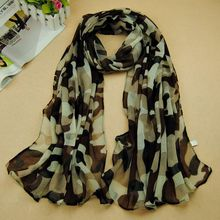 wholesale 20pcs/lot 2014 women printe army scarves popular viscose design muslim camouflage scarf/shawls(China (Mainland))