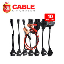 10PCS/LOT DHL Free Shipping Auto TCS Full Set Car Cables in stock(China (Mainland))