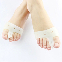 1pair=2pics Genuine new special hallux valgus bicyclic thumb orthopedic braces to correct daily silicone toe big bone