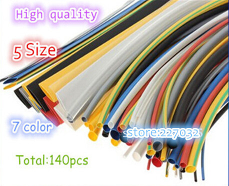 147color Assortment 2:1 Heat Shrink Tube Tubing Sleeving Wrap Wire Cable Kit - Tungfull Digital Technology Co.,Ltd store