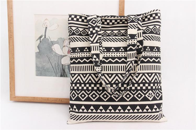 Handmade Cotton Cloth Hobo Handbag Shoulder Tote Bags for Women & Girl (5)