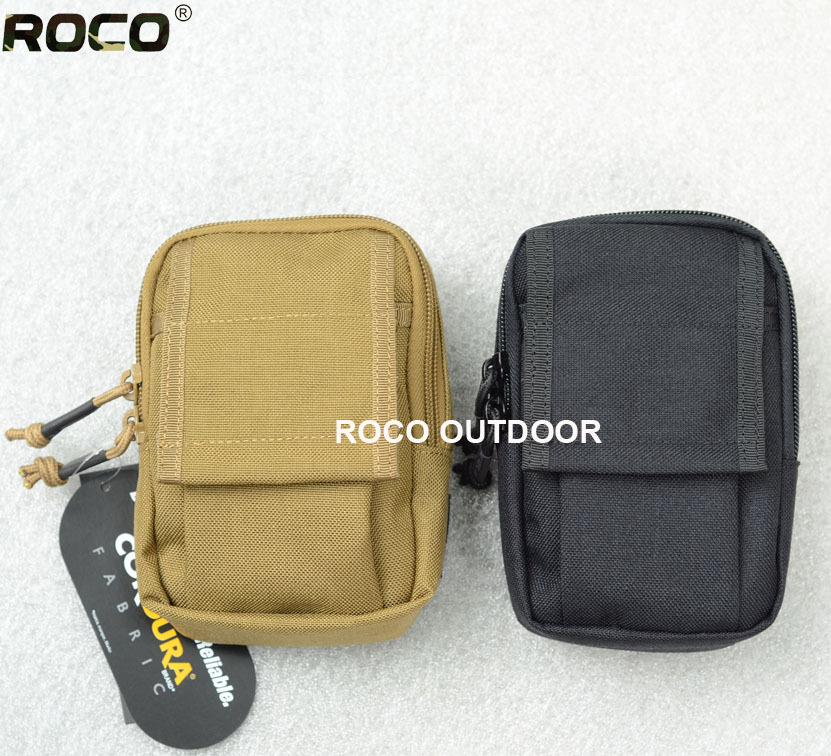 """Free Shipping Quality Tactical Molle Waist Packs Mini Tactical EDC Bag 5.5"""" Phone Pouch Pocket Organizer(China (Mainland))"""