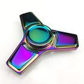 HOT EDC Toys Tri Spinner Fidget Toy Pattern Hand Spinner rainbow Fidget Spinner Stress Wheel spiner