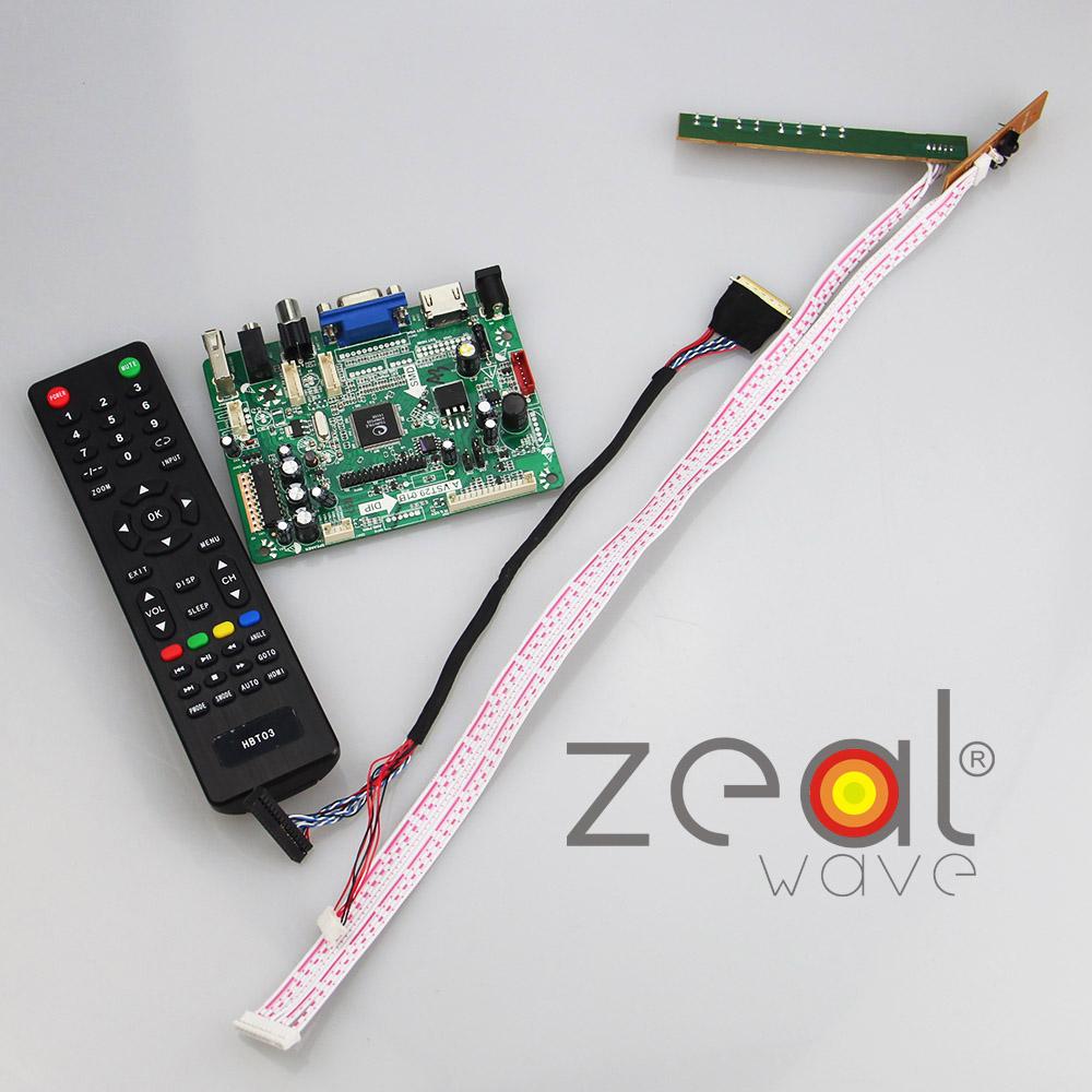 """(HDMI+VGA+CVBS+AUDIO+USB) Controller Board For N070ICG LD1 LD3 LD4 L21 7"""" 7Inch 1280*800 IPS LCD Display(China (Mainland))"""