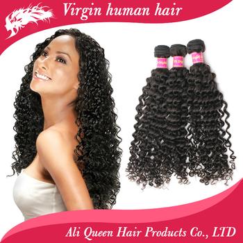 Ali Queen Hair Cheap 6A Brazilian Deep Wave Curly Virgin Hair Weave 3 Bundles Unprocessed Virgin Brazilian Human Hair weave