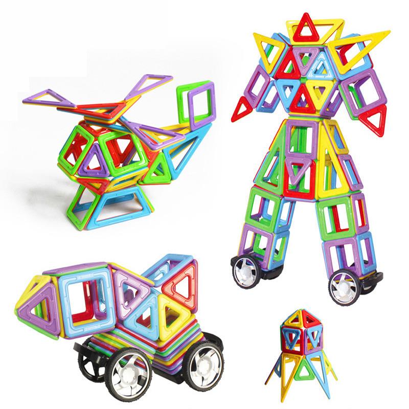 54PCS/Set Similar Magformers Model Building Toy Children Educational Toys Building Bricks Blocks Magnetic Learning Kids Toys<br><br>Aliexpress