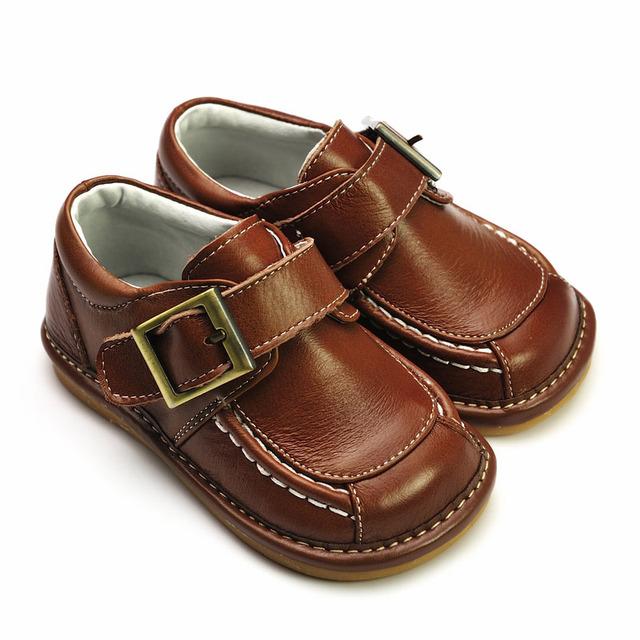 Ferycoo 6082 baby boy slip-resistant leather