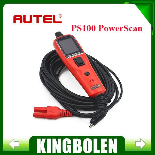 100% Original Autel PowerScan PS100 Circuit Tester Electrical System Diagnostic Tool ultimate in stock(China (Mainland))