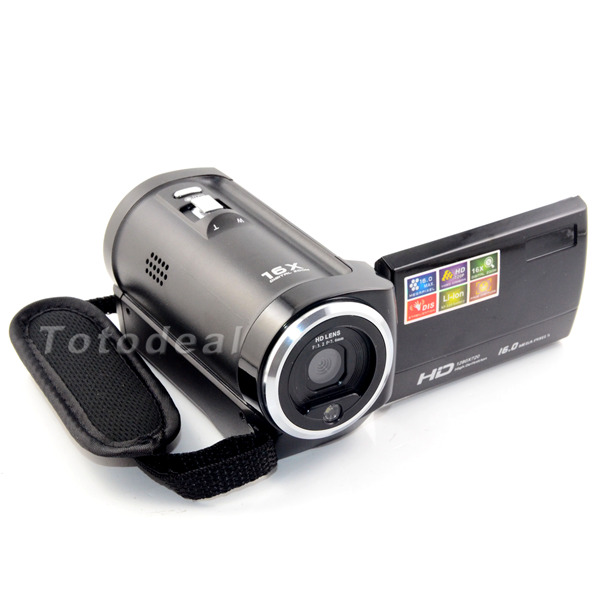 2015 New 2 7 TFT LCD HD 720P Portable Digital Camera Photo Camera 16x Digital ZOOM