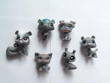 Littlest Pet Shop anime action figures yugioh animal figurines lps toy funko pop Animal Decoration movable PVC 4-6cm dog pig