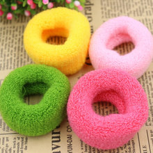 Buy , KAKU002512pcs/lot Colorful Wide Women Big Hair Holders Cute Rubber Bands Hair Elastics Accessories Girl Tie Gum (Mix Color) for $3.11 in AliExpress store