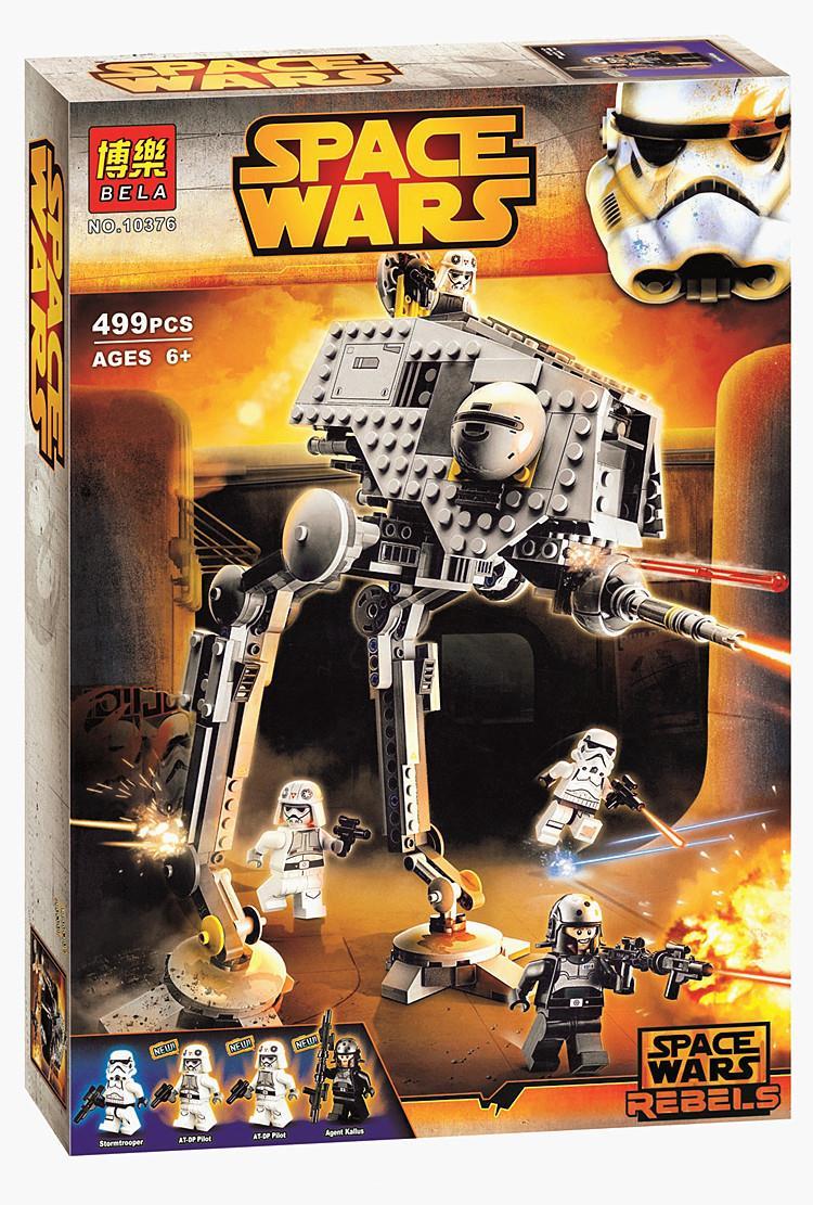 New STAR WARS AT DP 499pcs Spaceship Clone War Building Blocks Bricks Action Figures Starwars Toys