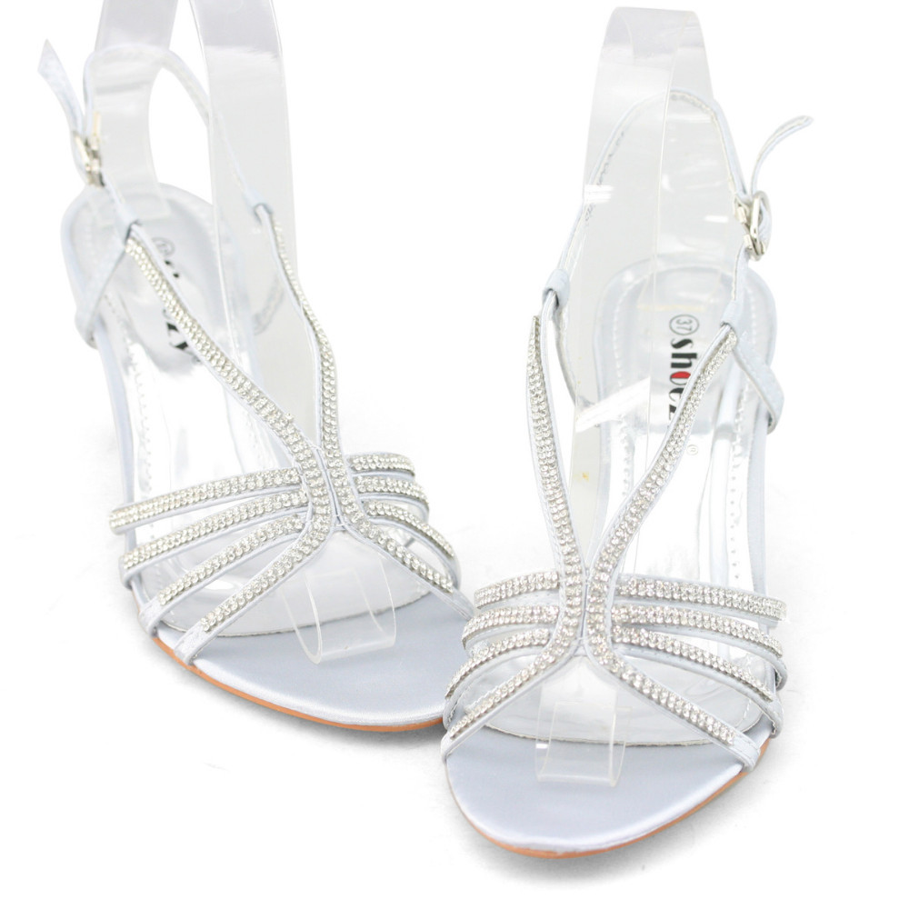 Low Kitten Heel Sandals