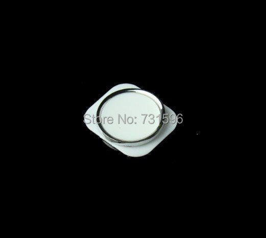 Colorful Home button for apple iPhone 5 5C , 5 custom home button 5s design, Black or White,No tracking number for free shipping(China (Mainland))