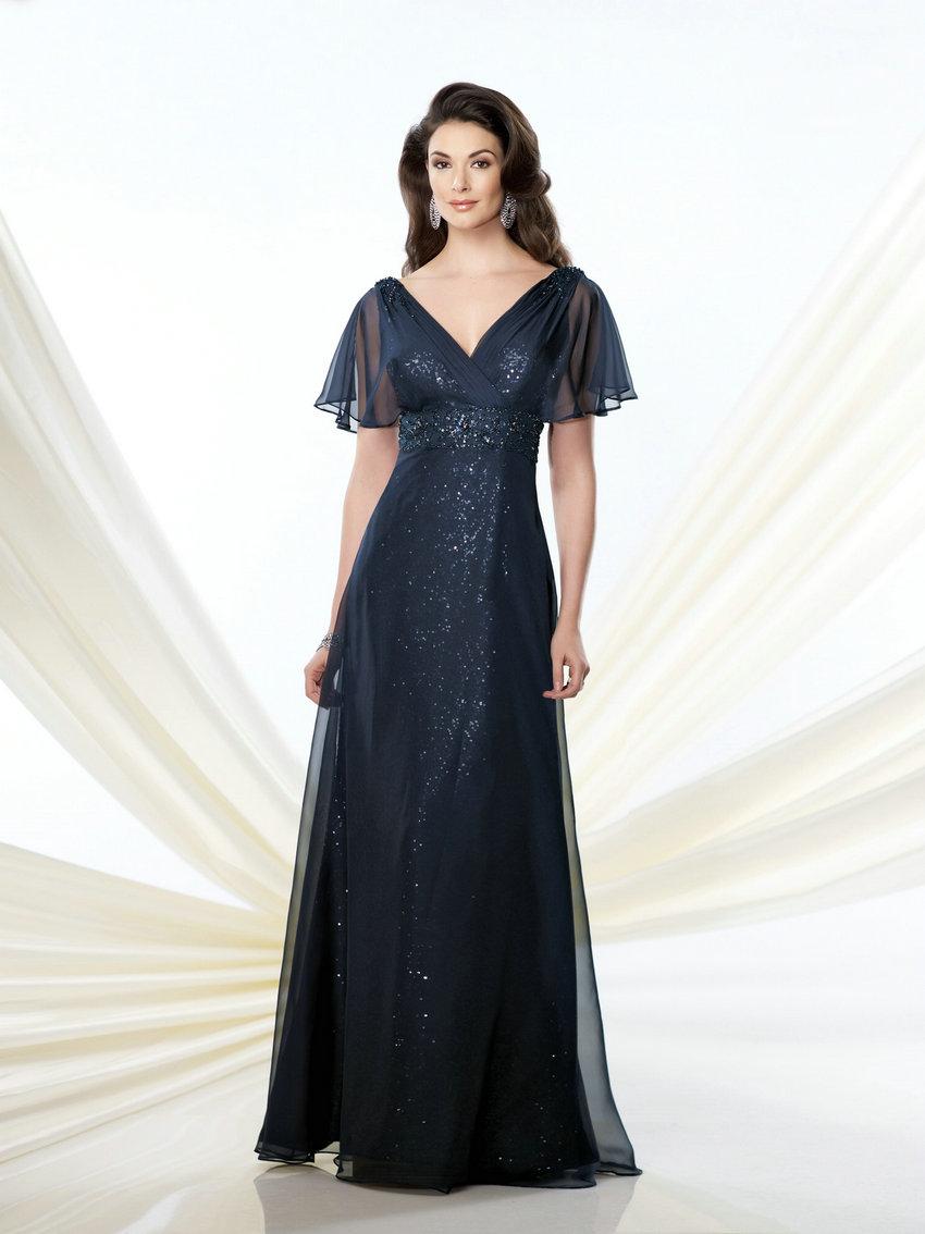 Zz373 2016 бриллиант блестками с коротким рукавом мать невесты платья длиной до пола , мать невесты платья