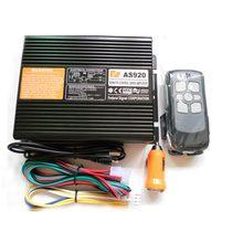 AS920 200W Car Alarm Siren 9 Tone Loudspeaker Horn Electronic Horn Siren Wireless Remote Control Police Siren Only Host