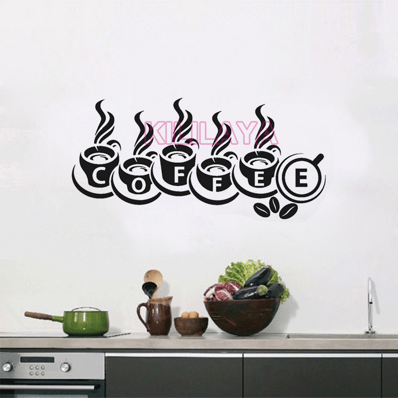 Popular coffee shop tile buy cheap coffee shop tile lots for Decor mural cuisine