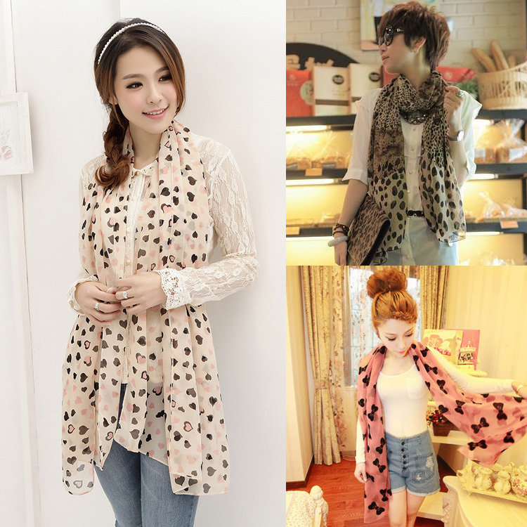 Hot 2014 scarves from new fashion echarpes oversized scarves chiffon shawls fashion from india leopard scarf women free shipping(China (Mainland))