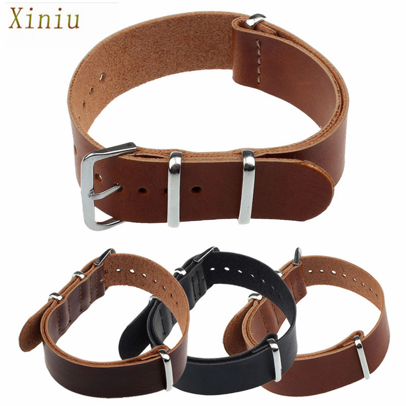 Really Cheap 20mm 22mm Fashion Concise PU Leather Wrist Watch Bands Strap Watches Watch Accessories Pin Buckle Correa Reloj(China (Mainland))