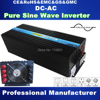 Power Inverter 12v 220v 5000w For Air-condition/ Water Pump Pure Sine Wave Inverter