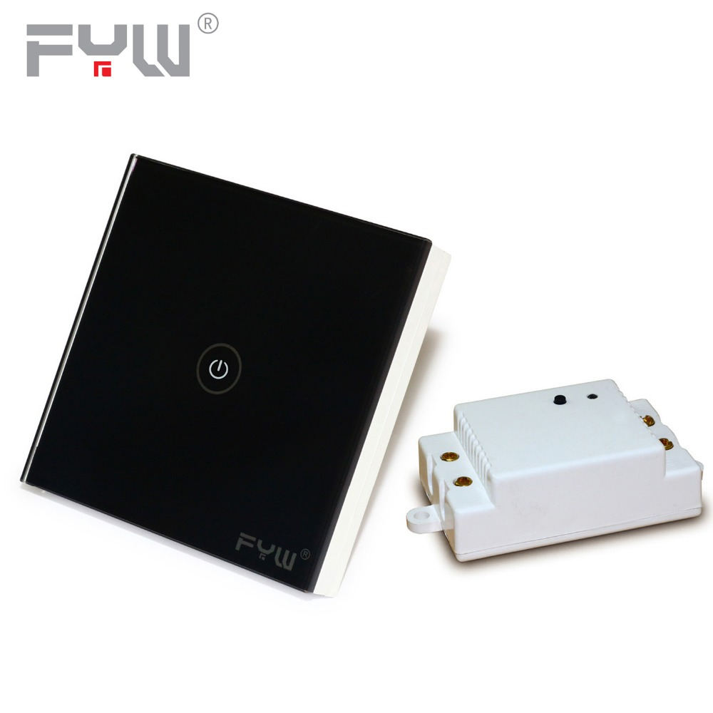 FYW Band EU Standard Remote Control Touch Switch Wireless home Wall Switch for Ceiling LED Lamps Lights Sticky switch No Wiring(China (Mainland))