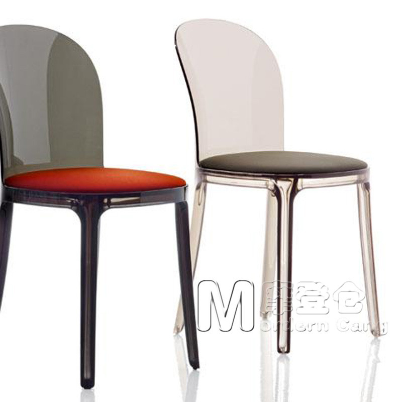 Modern Warehouse Vanity Chair Transparent Fashion Upscale