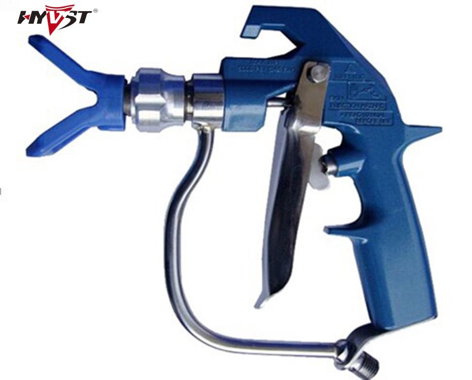 Best quality Graco airless spray gun,straight shank maximum pressure 7250 PSI professional gun 4 finger<br><br>Aliexpress