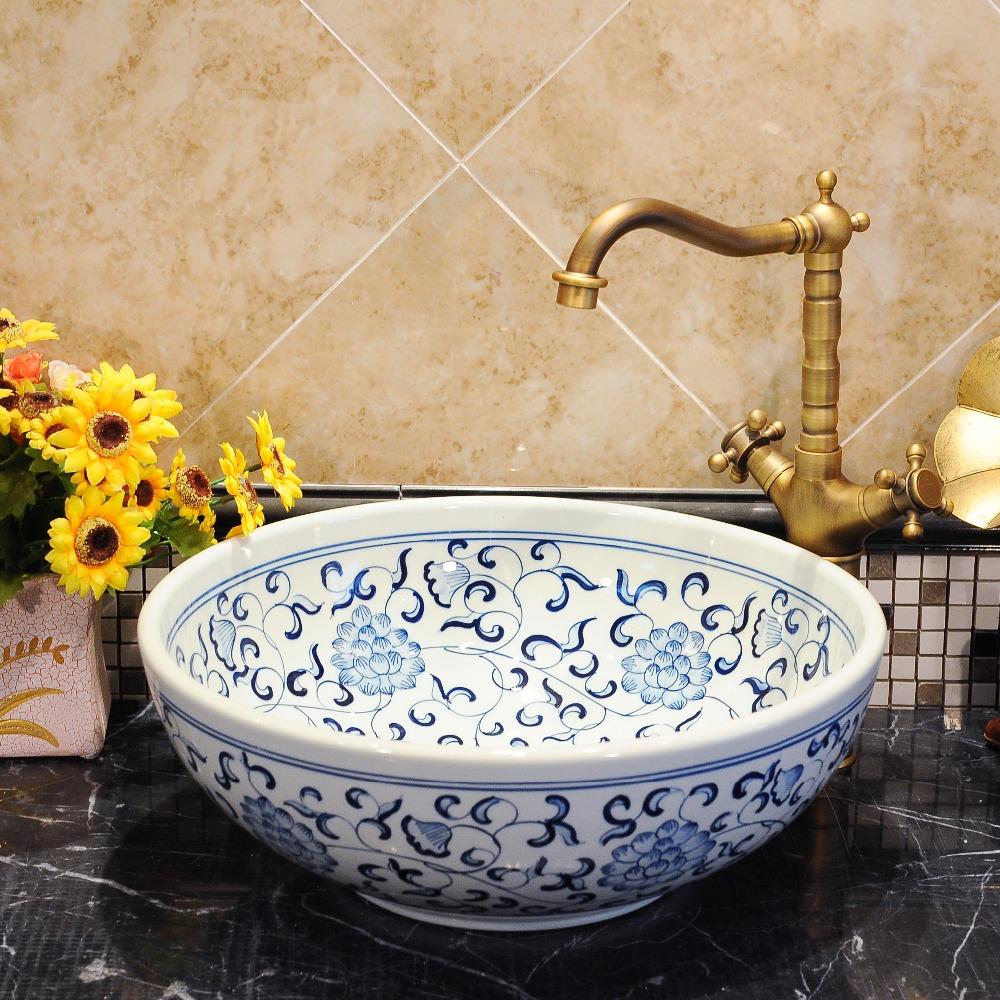 Lavabo de porcelana antigua compra lotes baratos de for Lavabos de porcelana