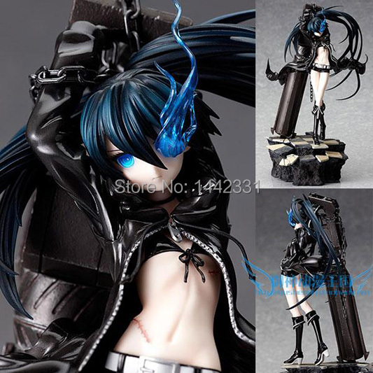 30cm BLACK ROCK SHOOTER Mato Kuroi Big Artillery 1/8 scale ver. Pre-painted Toys PVC Action Figure anime model brinquedos - Toys!Daddy! store