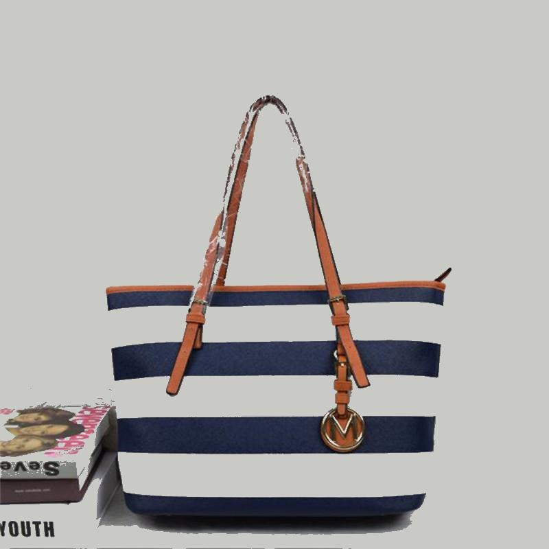 Hot Designers Classic striped famous brand Jet set brand luxury PU LEATHER messenger handbags women's lady shoulder Travel bags(China (Mainland))