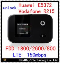 Desbloqueado LTE 150 Mbps Huawei E5372 4 G LTE wifi router LTE 4 G mIFI dongle 4 G fdd 800 e5372s-32 Vodafone R215 pk e5776 e5375 e589