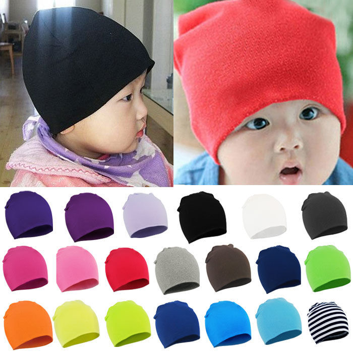 2015 Fashion Style New Unisex Newborn Baby Boy Girl Toddler Infant Cotton Soft Cute Hat Cap Beanie Cindy Colors(China (Mainland))