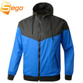 spring Autumn new men's sports jacket hooded jacket Men Fashion Thin Windbreaker Zipper Coats Free Shipping!